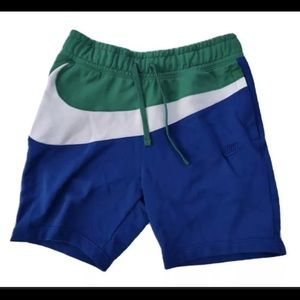 Nike Big Swoosh Shorts Green White